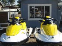 I am putting up for Auction a Pair of 2007 Sea Doo GTI