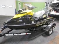VERY CLEAN 2007 SEA-DOO RXP 215 WITH ONLY 29 ENGINE