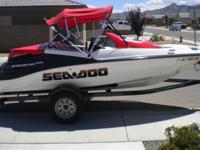 .....2007 Sea Doo 215hp Speedster boat. Only 40 hrs. on