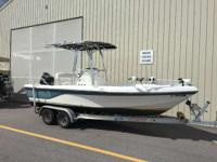 No trailer but we have new ones available. Sea Fox s