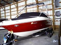 Description 2007 sea Ray 200 select, cinnabar is the