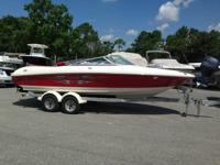 2007 Sea Ray 205 Sport. This boat has been covered and