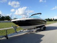 This is a 2007 SeaRay 220 Select. This boat is in