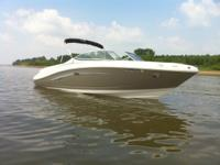 2007 Sea Ray 230 Select, white and pewter Bought