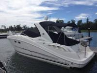 2007 Sea Ray 290 Sundancer, fresh. Fresh water only.