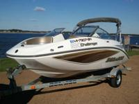 2007 SEA-DOO CHALLENGER 180 SE      215HP SUPERCHARGED