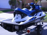 This is a 2007 GTX Seadoo jetski. It is in terrific