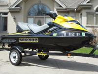 2007 Seadoo RXT 215 Supercharged 3 Seater Wave Runner
