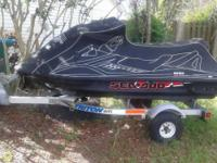 3 Seater Jetski, Custom Exhaust, Super Charger. In good