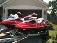 pair of 2007 Seadoo Jet Ski's that are in like new