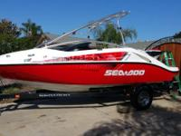 2007 Seadoo Speedster 200, 430 hp , 37hrs , like new,