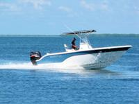 This 2007 Seafox 21 Pro Series is powered by a Suzuki