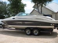 This Boat MSRP's at 95k Low hours 74 Showroom