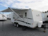 2007 Shamrock by Forest River design 21RS. NADA
