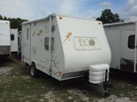 Great little travel trailer. Very lightweight and can