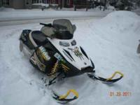 2007 Ski Doo Blizzard 600 SDI Electric Start, Studded,