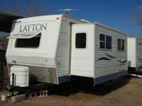 2007 Skyline Layton 3260, 35 feet with two slide outs.