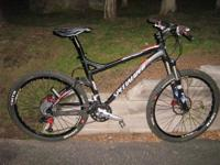 2007 Specialized Epic Marathon Mountain Bicycle - Size