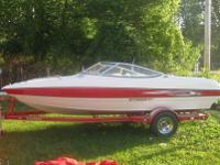2007 Stingray 185 LX 18.5 foot Bow Rider boat with only
