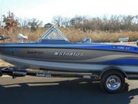 Powered by a 150 Horsepower Evinrude outboard engine,