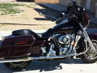 2007 Street Glide Harley Davidson. Prefect condition,