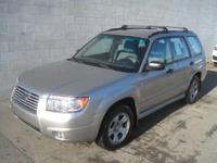 This outstanding example of a 2007 Subaru Forester X