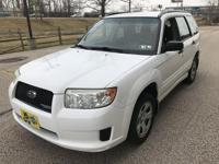 1-Owner and clean Carfax Report 2007 Subaru Forester X