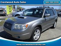 2007 Subaru Forester XT Limited! Rare 2.5L Turbo AWD!