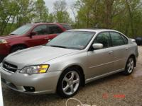 Reconstructed 2007 Subaru legacy AWD 2.5i Limited with