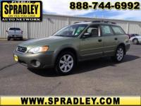 2007 Subaru Legacy Wagon 4 Door Wagon Outback Our