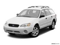 *New Arrival* This 2007 Subaru Outback 2.5i Includes