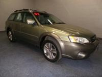 Land a bargain on this 2007 Subaru Legacy Wagon Outback