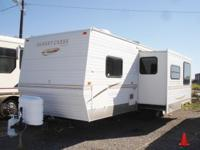 This Model 298BH by Sunnybrook is a travel trailer