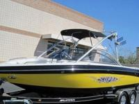 2007 SUPRA LAUNCH 22 SSV GRAVITY GAMES WAKEBOARD BOAT