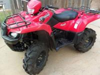 Suzuki 07 - ATV 700cc 4X4 Independent Suspension,
