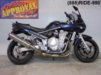 2007 Suzuki Bandit 1250 for sale only $2,999! 1250 C.C