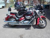 2007 Suzuki Boulevard C50 Sharp looking Street Bike W/