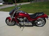 2007 Suzuki Boulevard M109R. Absolutely Showroom New,