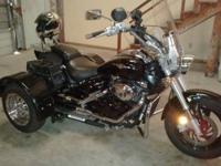 2007 Suzuki Boulevard M50 Trike 2470 miles over $9000