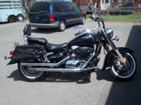 2007 Suzuki Boulevard WOW Sharp Street Bike W/ Saddle