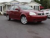 Options Included: AM/FMThis 2007 Suzuki Forenza 4dr