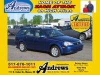 Options Included: N/A2007 Suzuki Forenza Station Wagon
