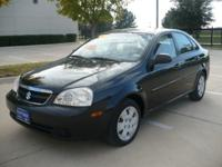 Options Included: N/A2007 SUZUKI FORENZA,VERY