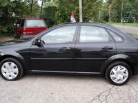 The 2007 Suzuki Forenza is a four-door five-passenger