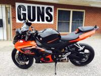 This is a 2007 GSXR 1000. 32k miles. It runs and drives