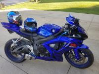 2007 Suzuki GXSR 600 motorcycle for sale. New ferrings,