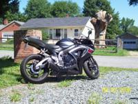 I have a 2007 Suzuki GSX-R 750 for sale. The bike has