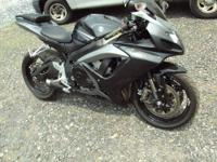Up for sale is my 2007 GSXR750 street bike. It