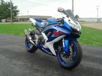 2007 Suzuki GSX-R 600 RR.Looks and runs excellent,