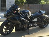 2007 Suzuki GSX-R. Here is a one of a kind custom bike